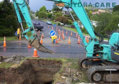 directional-drilling-digger-road-works