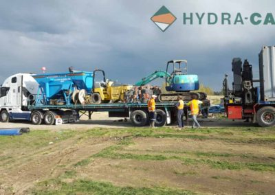 de watering machinery